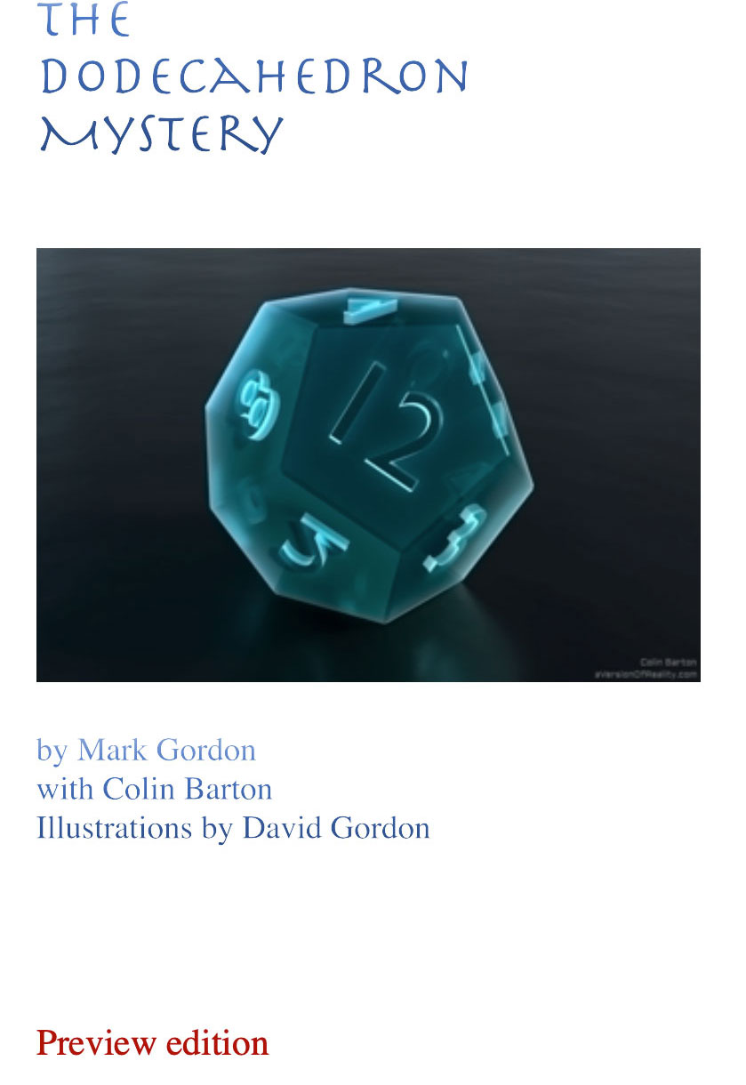 Chapter One: The Dodecahedron Mystery